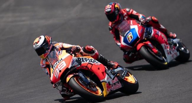 Dua Rider yang Dulu Repotkan Marquez Sekarang Ada di Honda