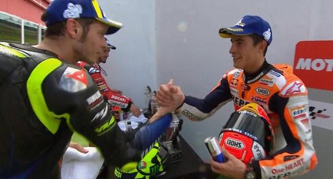 Marquez Ungkap Alasan Tak Bisa Berteman dengan Rossi