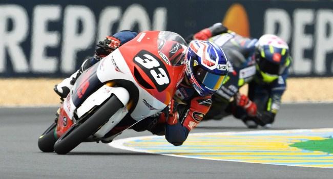 Kualifikasi CEV Moto3 Prancis: Kunii Pole, Mario SA Start 17