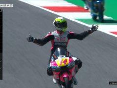 Race Moto3 Italia: Arbolino Menang, Gerry Salim Finis 18