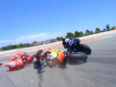 MotoGP Catalunya: Komentar Dovi Usai Dihantam Lorenzo