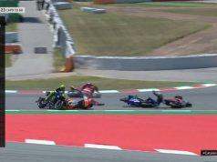 Race MotoGP Catalunya: Lorenzo Tabrak Dovi, Rossi dan Vinales