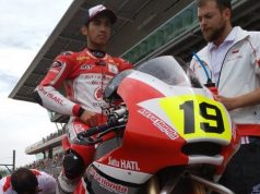 Race 1 CEV Moto2 Catalunya: Andi Gilang Finis 12, Gerry 18