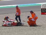 Kondisi Terkini Dimas Ekky Usai Kecelakaan FP1 Moto2 Belanda