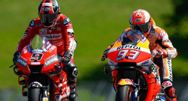 Alasan Ducati Belum Tertarik Serius Gaet Marquez