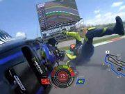 Video: Detik-detik Rossi Jatuh di Race MotoGP Italia 2019