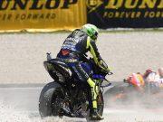 MotoGP Italia: Komentar Rossi Usai Terjatuh di Mugello