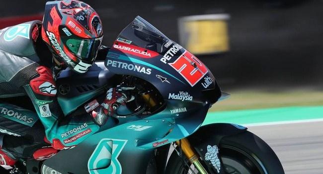 Quartararo Tantang Duel Rossi dan Marquez