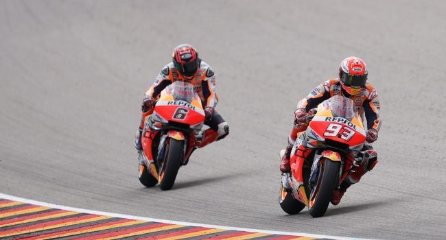 Bradl Heran Marquez Bisa Cepat Pakai Honda