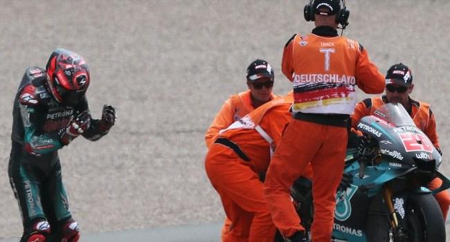 Komentar Quartararo Usai Kecelakaan MotoGP Jerman
