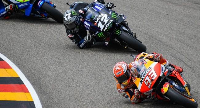 MotoGP Jerman: Vinales Angkat Tangan Kejar Marquez