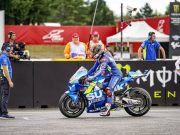 Rins Sempat Khawatir Ban Belakang Meledak di Brno
