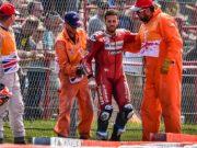 Kondisi Dovi Usai Kecelakaan di MotoGP Inggris