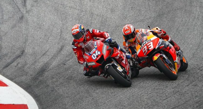 MotoGP Austria: Begini Cara Dovi Kalahkan Marquez