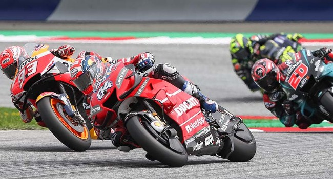 Motor Ducati Masih Kesulitan Menikung