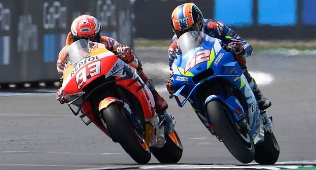 MotoGP Inggris: Marquez Kalah Karena Khawatir Jatuh