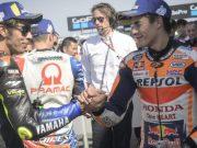 MotoGP Inggris: Rossi Bantu Marquez Raih Pole