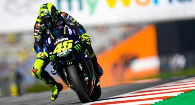 MotoGP Austria: Start 10, Rossi Yakin Kejar Marquez