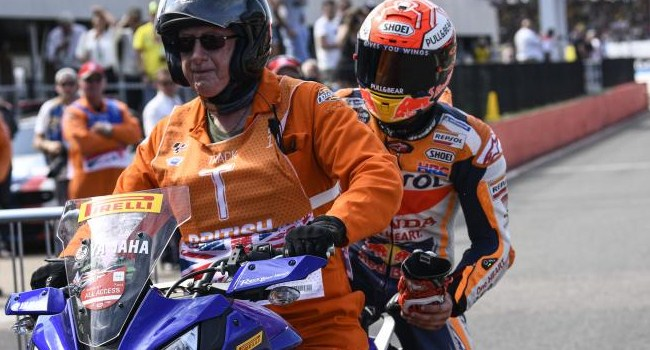 MotoGP Inggris: Akhirnya Marquez Naik Yamaha