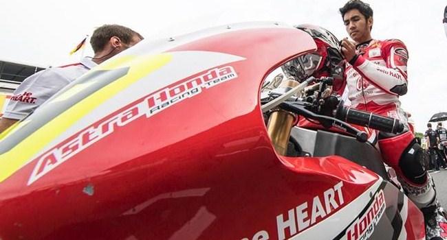 Andi Gilang Gantikan Dimas Ekky di Moto2 San Marino