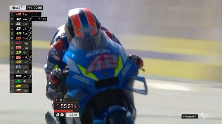 Hasil Latihan Bebas 3 MotoGP Aragon 2019