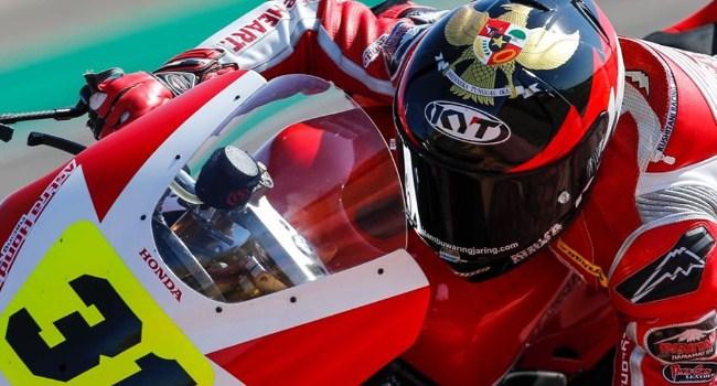 Gerry Salim Gantikan Dimas Eky di Moto2 Aragon