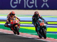 Mampukah Quartararo Balas Marquez di MotoGP Aragon?