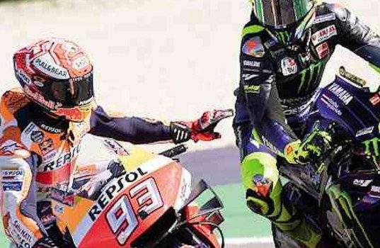 Pengamat: Rossi Bantu Marquez Kalahkan Quartararo