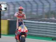 MotoGP Aragon: Menang Santuy, Marquez Finis Sambil Mancing