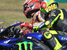 Panas di Kualifikasi, Marquez Tak Berani Salahkan Rossi
