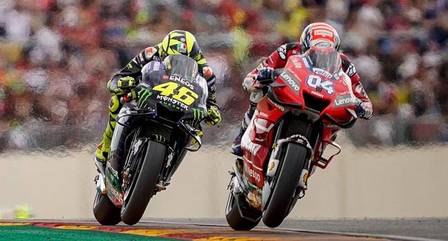 Rossi Terpaksa Melambat di Aragon, Ini Penyebabnya