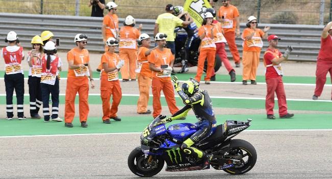 Resmi! Rossi Gagal Juara Dunia MotoGP 2019