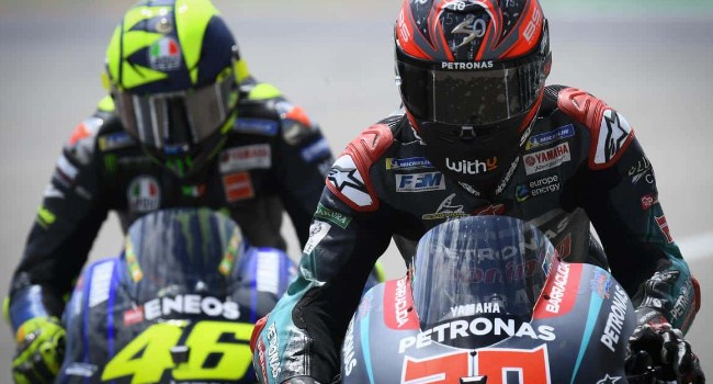 Quartararo atau Rossi, Siapa Pilihan Yamaha 2021?