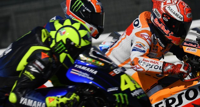 Makin Panas! Rossi Balas Sindiran Marquez