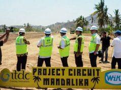 Pembangunan Sirkuit Mandalika Sudah Berjalan 10 Persen