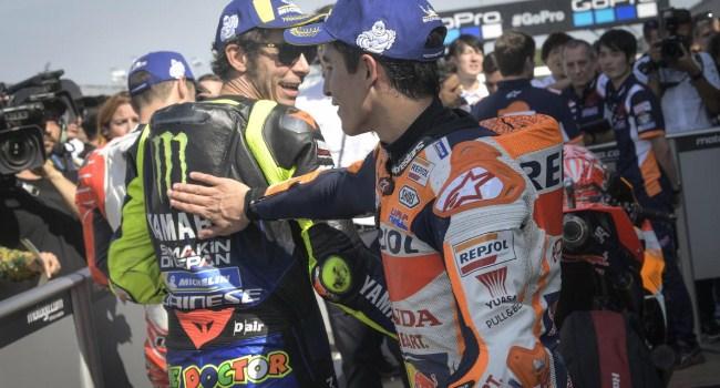 Rossi Beri Ucapan Selamat ke Marquez, Begini Katanya