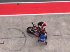 Aleix Tabrak Fotografer di MotoGP Malaysia