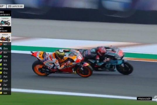 Hasil Race MotoGP Valencia 2019