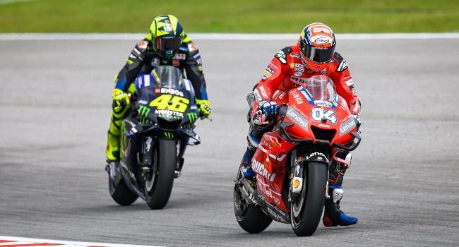 Gagal Podium Malaysia, Rossi: Dovi Kencang di Trek Lurus