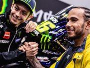 Hamilton Kecelakaan Pakai Motor Yamaha M1 Rossi