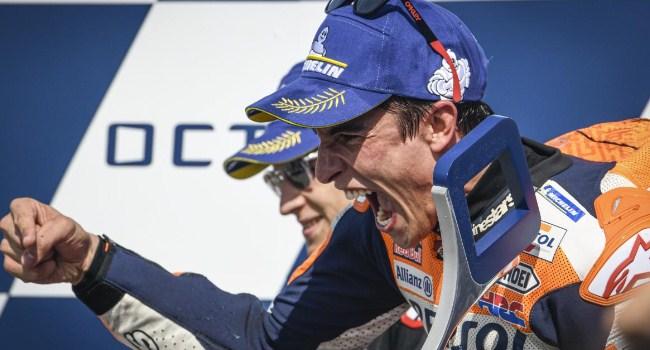 Tetap di Repsol Honda, Marquez Tak Seberani Rossi