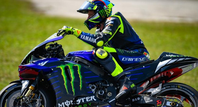 Rossi Ungkap Plus-Minus Motor Baru Yamaha M1 2020