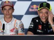 Marquez Akui Hubungannya dengan Rossi Baik-baik Saja, Tapi