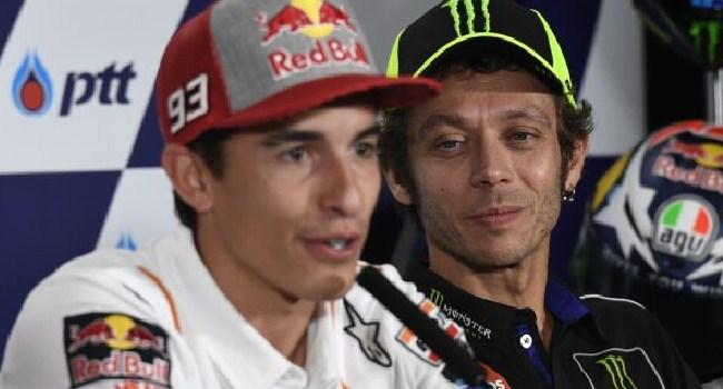 Marquez: Rossi Lebih Baik Ketimbang Stoner, Tapi