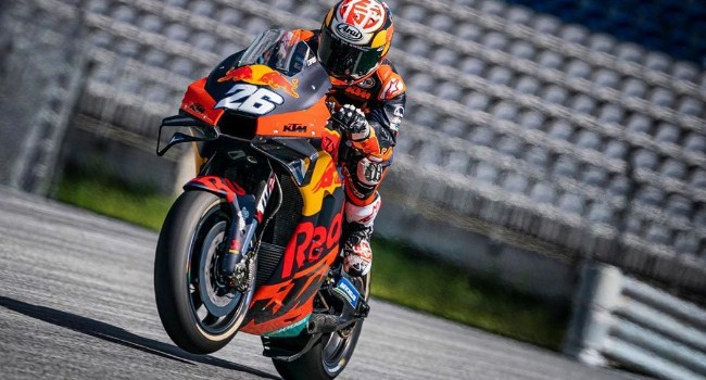 Pedrosa Sukses Uji Coba Motor KTM di Tengah Wabah Corona