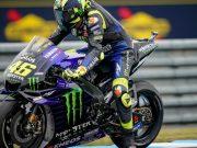 Ini Rahasia Rossi Turunkan Kaki Saat Pengereman