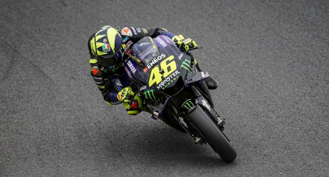 Test Rider Honda: Jangan Khawatir, Rossi Masih Kompetitif