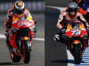 Perbandingan Debut Honda Lorenzo vs Alex, Siapa Lebih Baik?