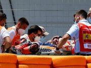 Dokter MotoGP: Kondisi Parah, Lengan Marquez Patah Karena Ban
