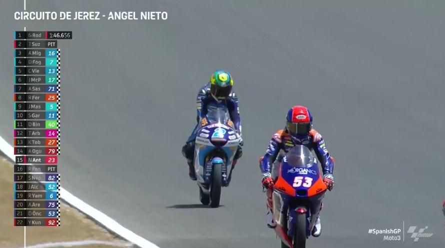 Hasil Latihan Bebas 2 Moto3 Spanyol 2020